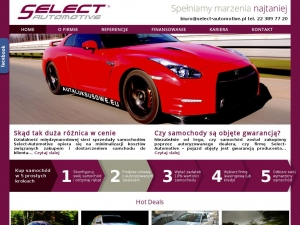 Piekny Jaguar w ofercie Select Automotive